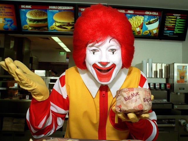 Czy ktoś może przekazać zespołowi mediów społecznościowych McDonald'a treści z Black Friday?