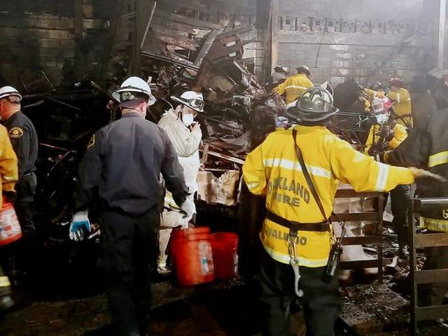 2 osoby oskarżone o zabójstwo w śmiertelnym pożarze magazynu Ghost Ship