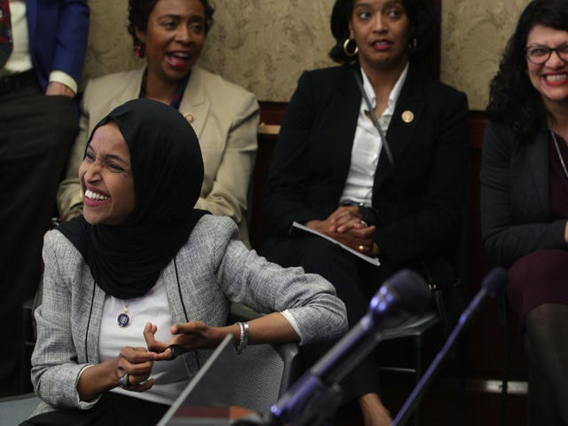 Ilhan Omar and Muslim Members of Congress Host Historic Iftar on Capitol Hill