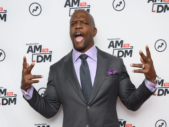 Since Shutting Up Doesn't Pay as Much as America's Got Talent, Terry Crews Continues to Be Loud and Wrong
