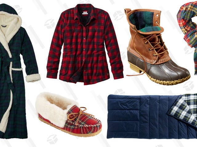 Add Some Plaid to Your Fall Wardrobe With 20% Off Flannels From L.L.Bean