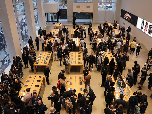 Según los informes, Apple busca comenzar a reabrir tiendas en mayo