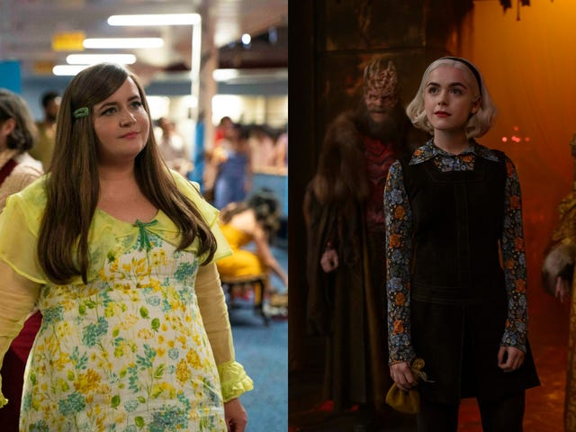 Aidy Bryant talks Shrill's return, and we bundle up for Chilling Adventures Of Sabrina