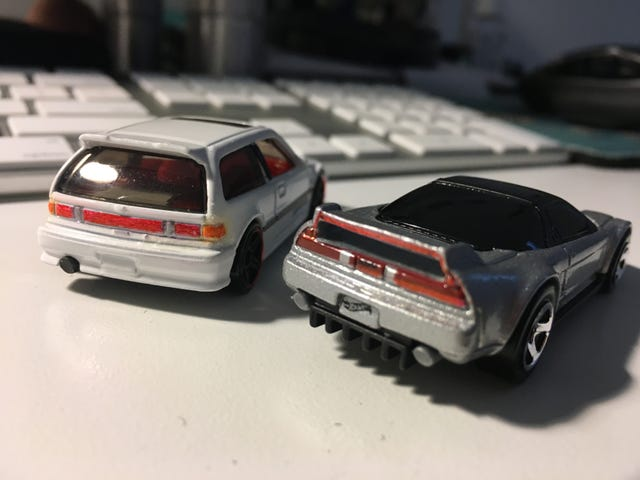 Easing into Customs: Honda Butts Edition