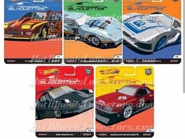 Hot Wheels Car Culture: Silhouettes: This is its card art