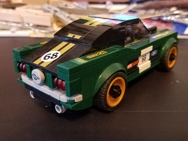Lego My Mustangs!