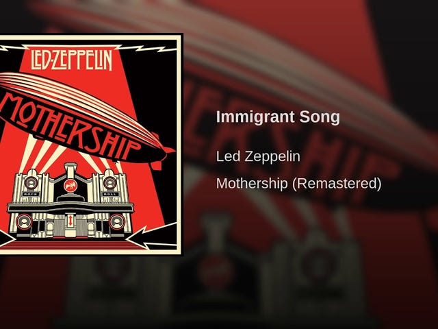 Led Zeppelin -- 'Immigrant Song'