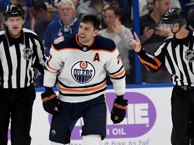 Milan Lucic Gets Off With $10,000 Fine For Attacking Mathieu Joseph