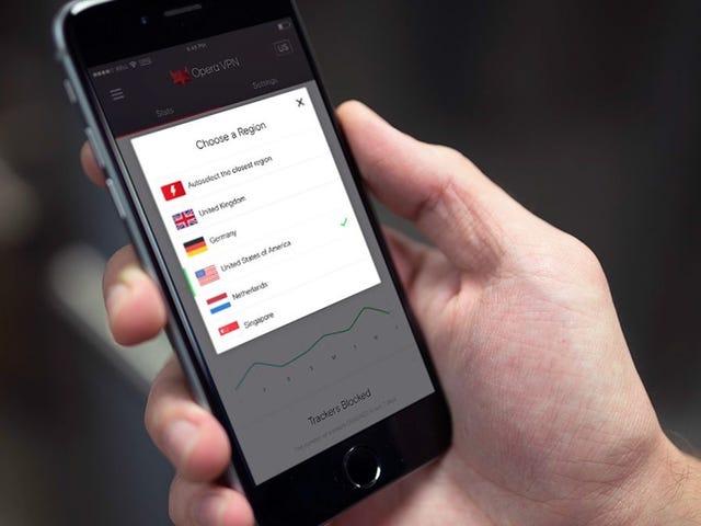 El nuevo VPN de Opera -palvelun tarjoaja: a qué y cuándo deberías utilizarlo