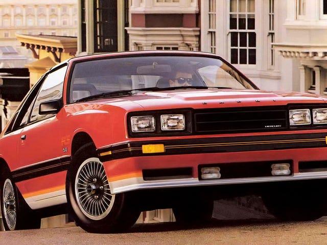 """I 1983 forudsagde MotorWeek Mercury Capri RS, og den mægtige 175 hestekræfter V8 ville holde den amerikanske """"car craze"""" levende for ..."""
