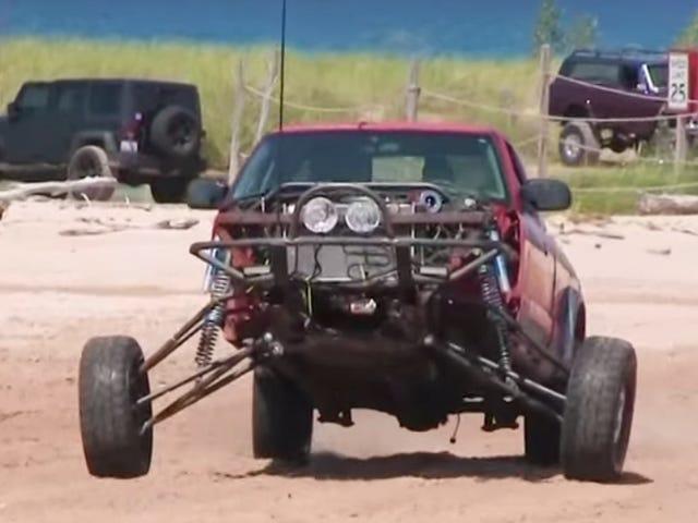 Apa Itu 'Prerunner' Dan Mengapa Chevy S-10 10 Feet Wide ini?