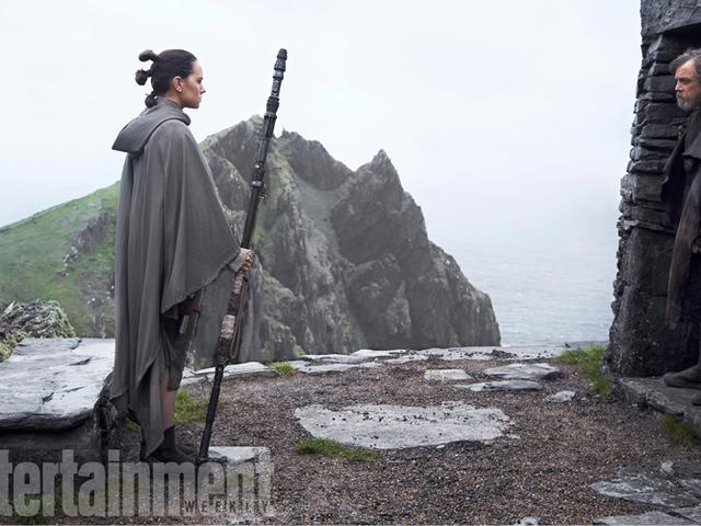 Mark Hamill esittelee la tragedian, joka on luultavasti Luke Skywalker, joka on täynnä <i>Star Wars: The Last Jedi</i>