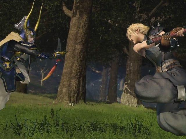 Tetsuya Nomura uudelleensuunnitteluhahmoista <i>Dissidia Final Fantasy</i>