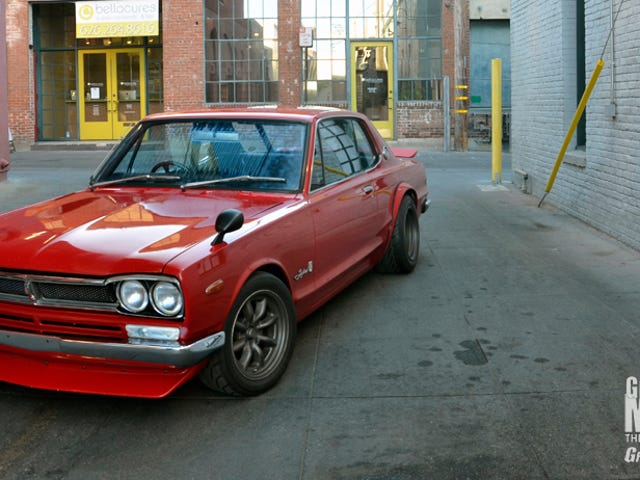 A hotrodded 1970 Skyline 2000 GT coupe