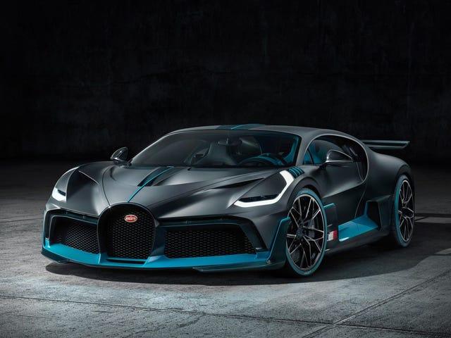 2019 Bugatti Divo är den 236 MPH $ 5,8 miljoner entusiastens Bugatti