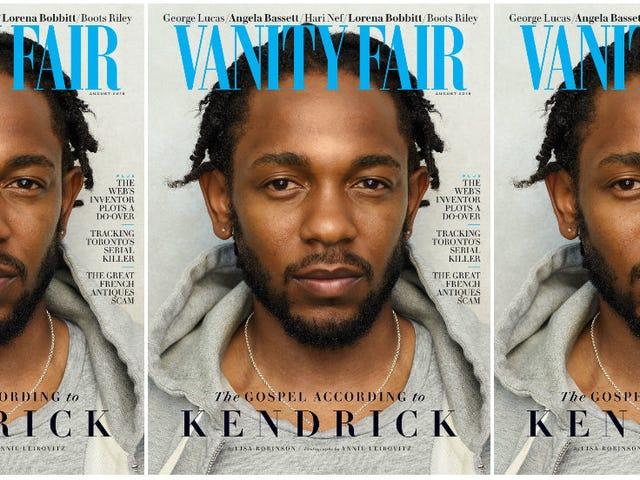 Kendrick Lamar selviytyjän syyllisyydestä, valkoiset ihmiset, jotka sanovat N-sanaa ja Etelä-Afrikan taika