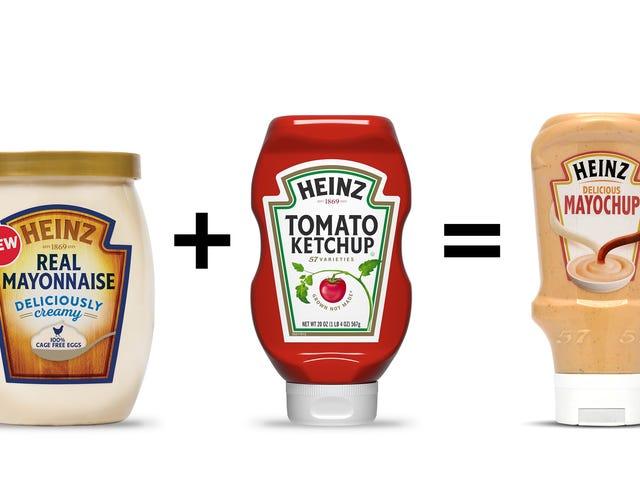"""Heinz presenta la salsa """"mayochup"""", su propia mezcla de mayonesa y ketchup"""