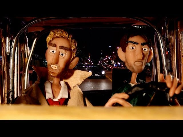 Constantine Tries To Save His Own TV Show In Bizarre Claymation Short