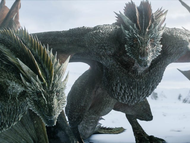 Turns Out Game of Thrones' Dragons Are Kinda Weaksauce
