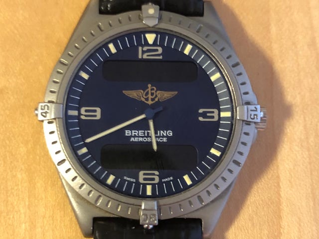 Got a new to me Breitling