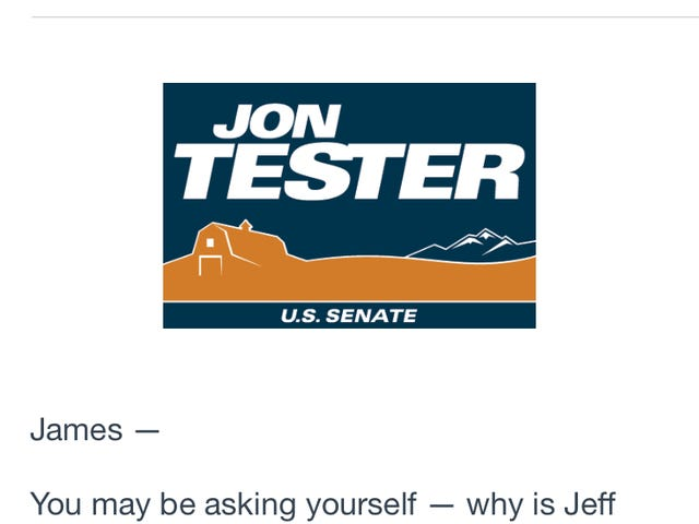 Jeff Bridges emailed me!!!