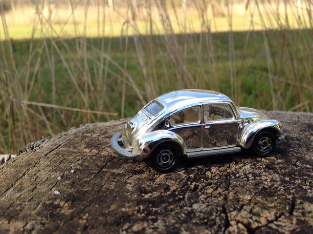 Ooooo Shiny! A Chrome Tomica Bug