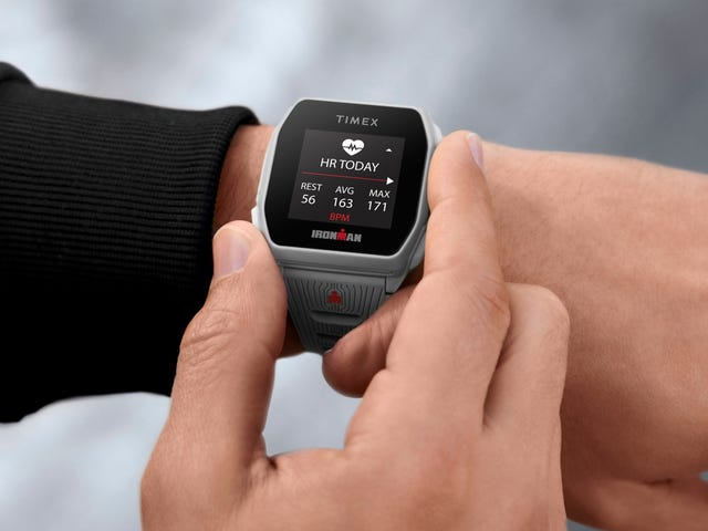 It Is the Year 2020, and Timex Just Got Back Into Smartwatches