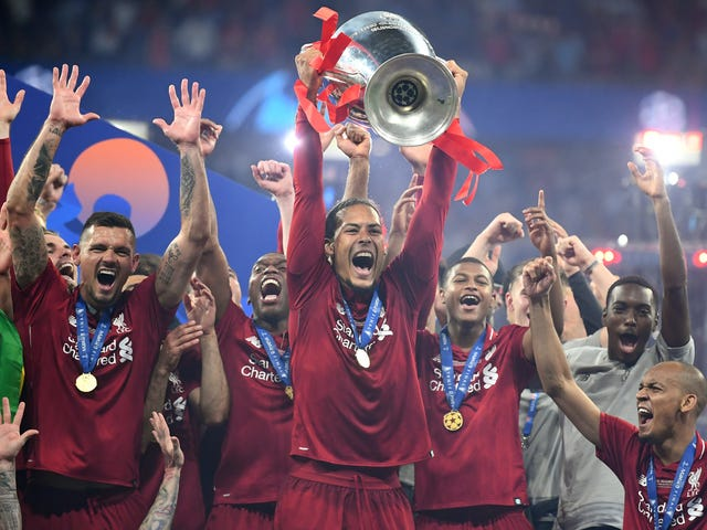 Abwehr gewann Liverpool The Champions League