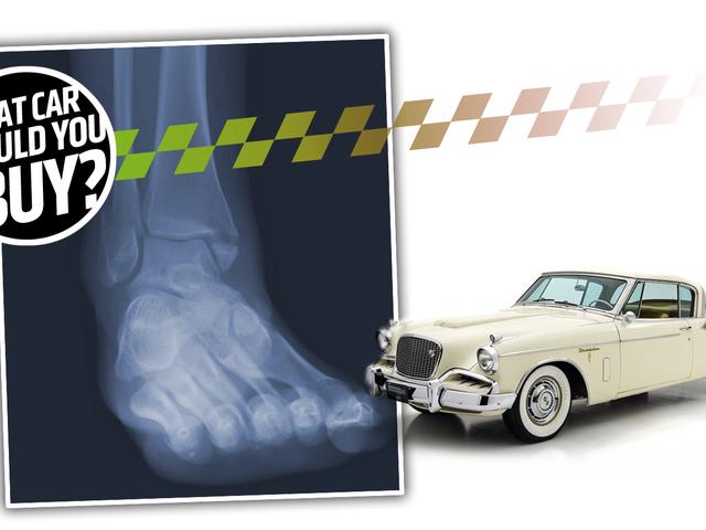 私は足首を骨折したし、安い楽しい自動車が必要です! 何を買えばいいですか?