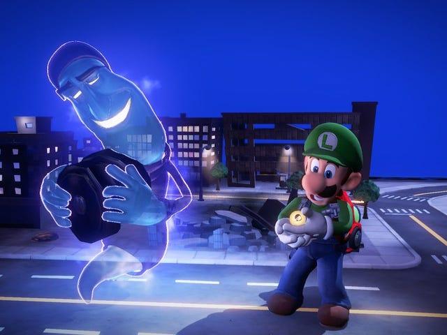 Le meilleur niveau dans le manoir de Luigi 3 vous permet d'aider ou de trahir un fantôme amical