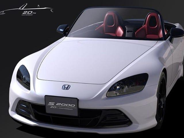 La Honda S2000 reviendra en tant que nouvelle pièce unique personnalisée pour rappeler à tout le monde que c'est une icône