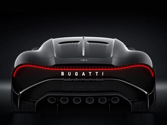 Fun fact about that new Bugatti disaster