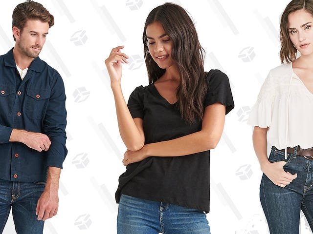 Lucky You, Lucky Brand Is Taking 50% Off Favorites During This One-Day Sale