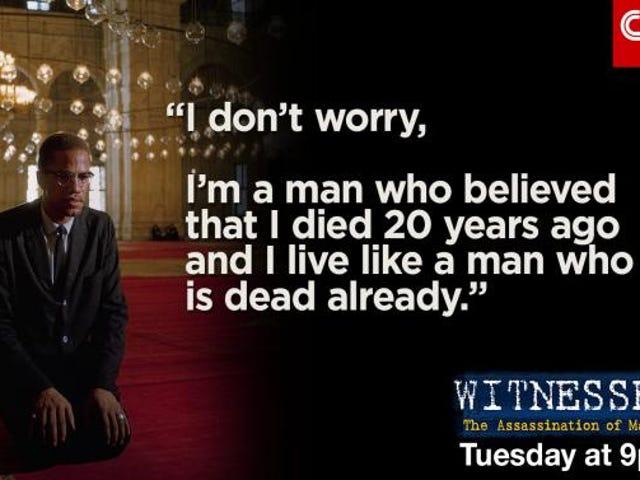 La CNN spera di rispondere a quello che è successo davvero la notte in cui Malcolm X è stato ucciso