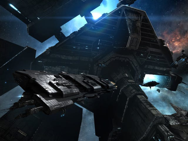 One Of <i>EVE Online</i>'s Most Challenging Jobs Is Being A Space Trucker