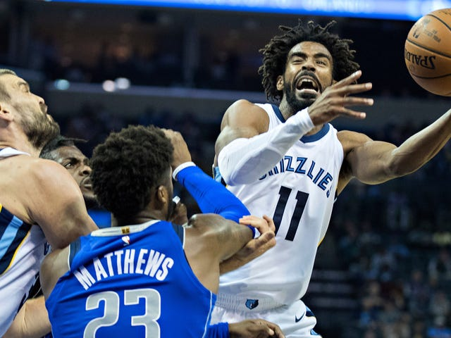 Mike Conley And The Grizzlies Are Done For The Season