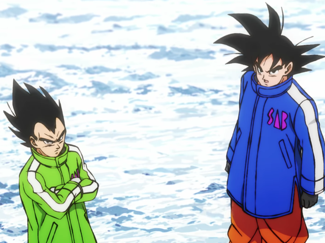 People Love Goku And Vegeta's New...Jackets
