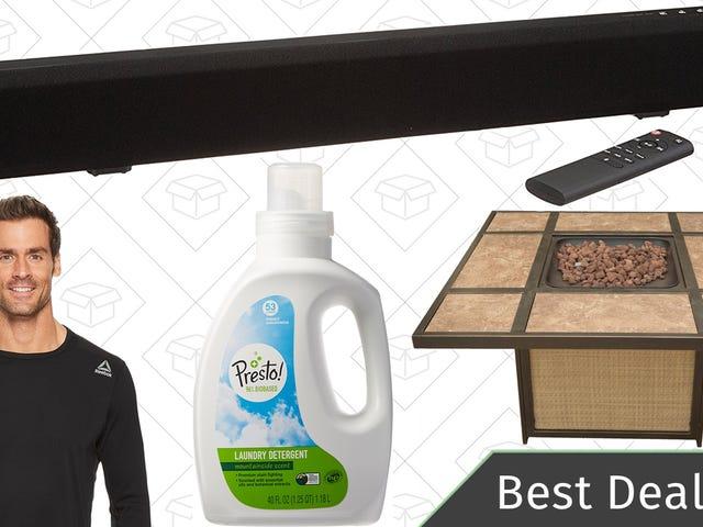 Lauantain parhaat tarjoukset: Reebok-vaatteet, AmazonBasics-äänipalkki, Apple-tarvikkeet ja lisää