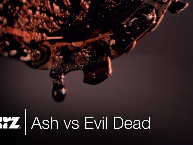 Ash's Chainsaw Is Already Bloody In Teaser For Ash Vs Evil Dead