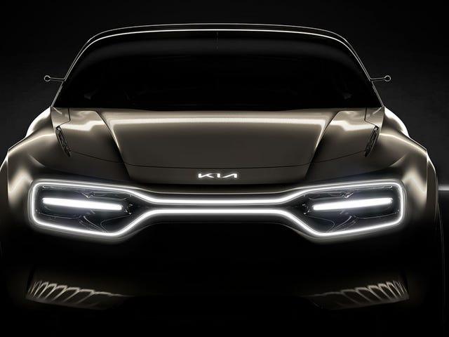 Новый электрический концепт-кар Kia выглядит угрожающе
