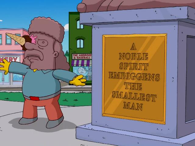 Una palabra inventada oleh <i>Los Simpson</i> llega al diccionario 22 años después