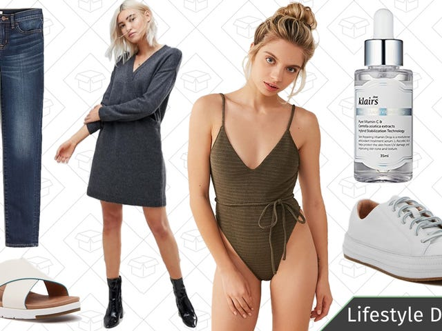 Monday's Best Lifestyle Deals: K-Beauty Skin Care, J.Crew Factory, Urban Outfitters, and More