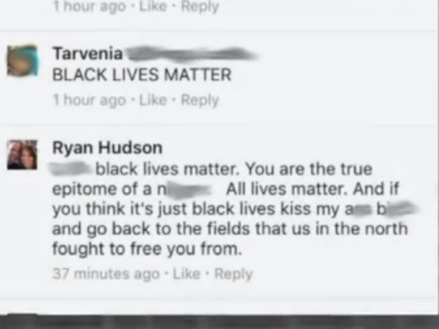 Mich. Firefighter Fired for Racist Facebook Comments