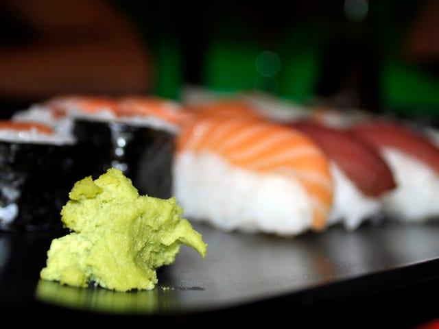 """Una donna può avere una """"sindrome del cuore spezzato"""" dopo aver mangiato troppo Wasabi a un matrimonio"""