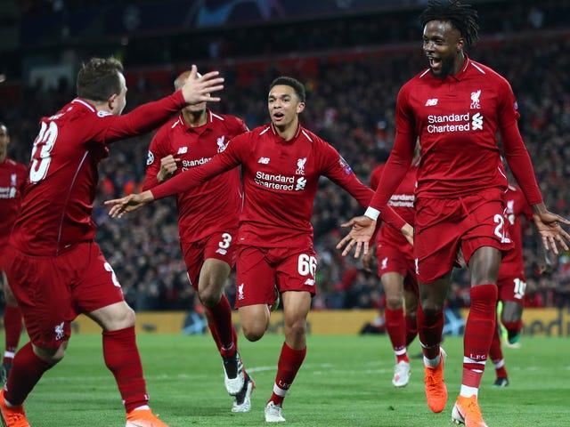 Liverpool Stage Helt Sensasjonell 4-0 Kom tilbake over Barcelona for å nå Champions League Final