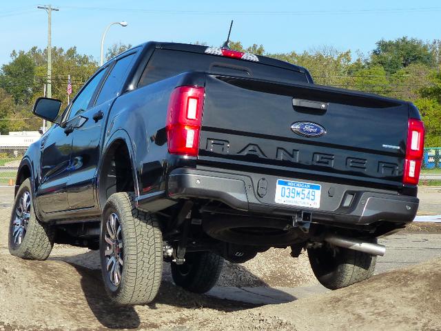El Ford Ranger 2019 debería luchar fuerte fuera de la carretera contra otros camiones de tamaño mediano