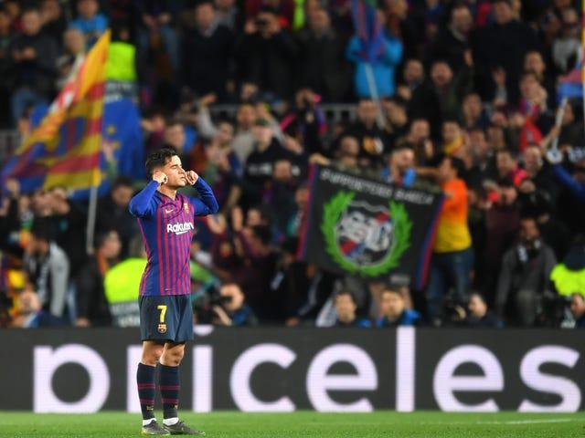 Philippe Coutinho og Barcelona kunne likevel ha en god avslutning sammen
