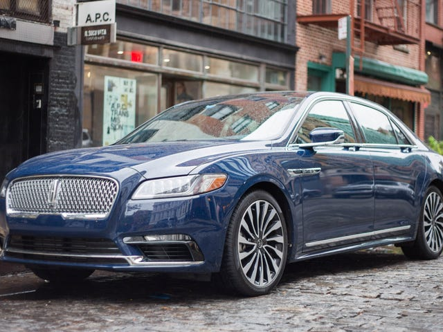 No One Is Buying The Lincoln Continental