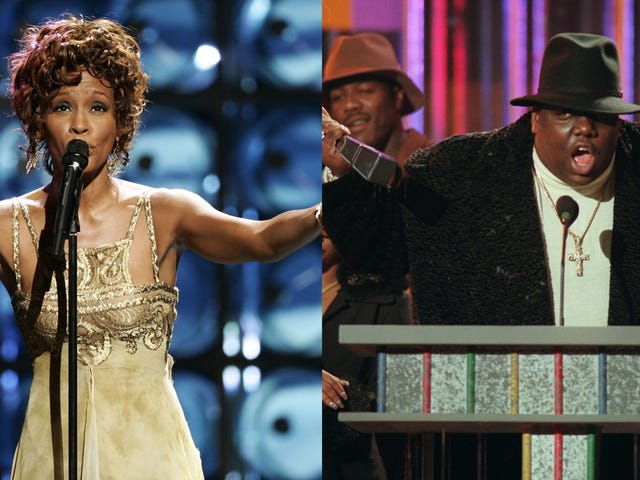 Whitney Houston og Notorious BIG skal indføres i Rock & Roll Hall of Fame