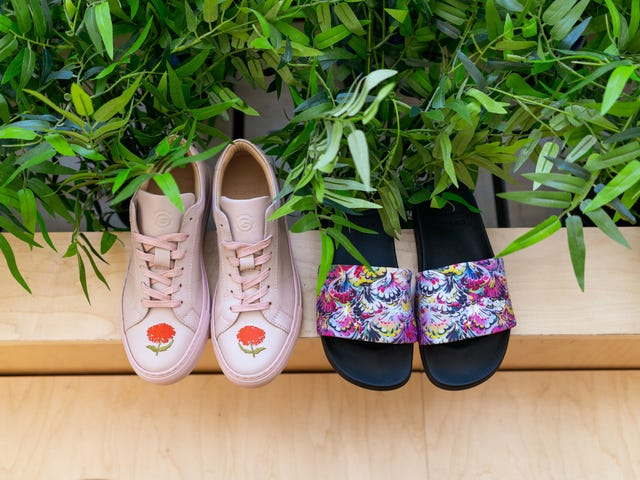 GREATS Launched Two New Shoes In Collaboration With Cynthia Rowley